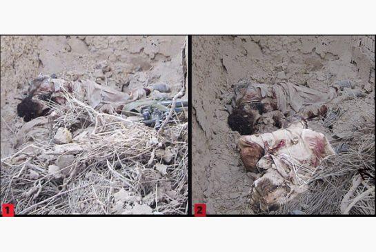 Omar Khadr tiré à bout portant dans le dos par un soldat américain.