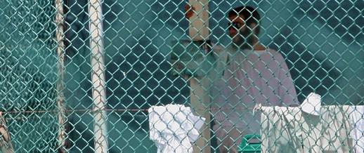 Omar Khadr à Guantamo